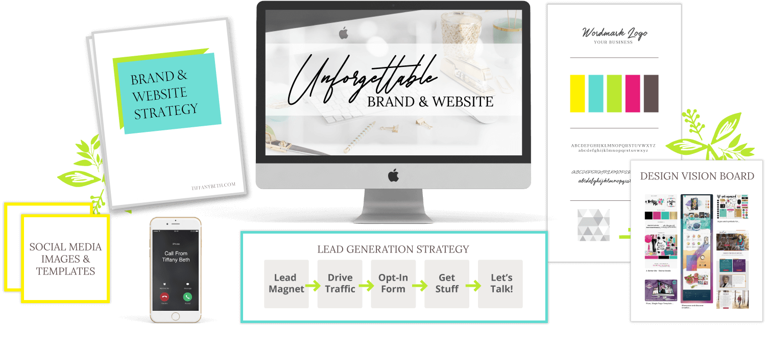 Unforgettable Brand & Website